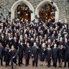 Fuqua Weekend MBA students graduating as part of the Duke network