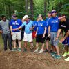 WEMBA students participate in team building