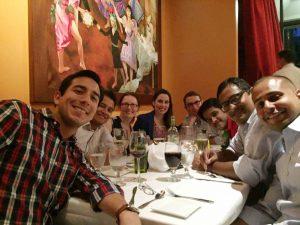 8 executive MBA classmates