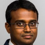 Headshot of Swithin George, a student blogger in the Weekend Executive MBA program at Duke Fuqua